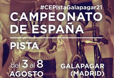 El velódromo de Galapagar acogerá el Campeonato de España de pista