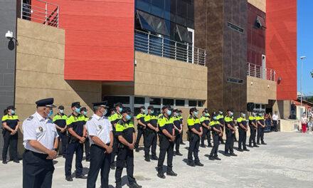 Collado Villalba rinde homenaje a la Policía local en el 71 aniversario de su creación