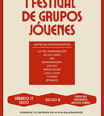 El sábado, I Festival de Grupos jóvenes en Galapagar
