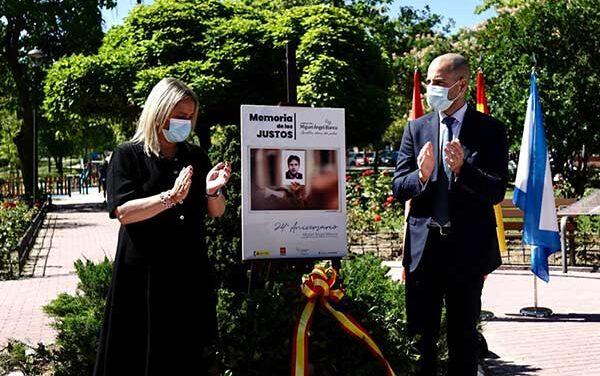 Majadahonda honra la memoria de Miguel Ángel Blanco