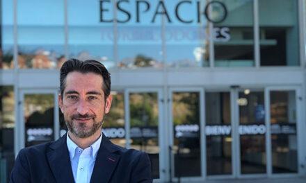 Óscar Llanes, nuevo director del centro comercial Espacio Torrelodones