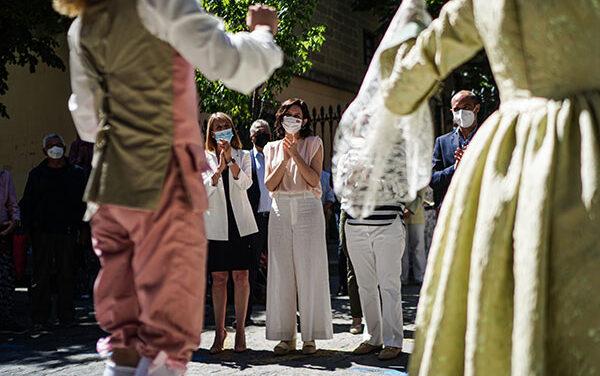 Díaz Ayuso presenta el I Festival Internacional de Verano de El Escorial