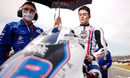 El joven de Torrelodones, ManuGass, debuta en el Campeonato de Moto2 en el GP de Holanda