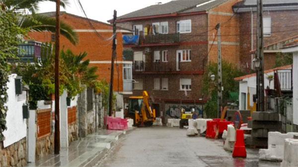 El Ayuntamiento de Galapagar protege el pavimento de algunas calles