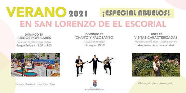 San Lorenzo celebra este domingo y lunes el Día de los Abuelos