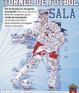 Abiertas las inscripciones para los torneos de verano de fútbol sala y fútbol 7 en Guadarrama