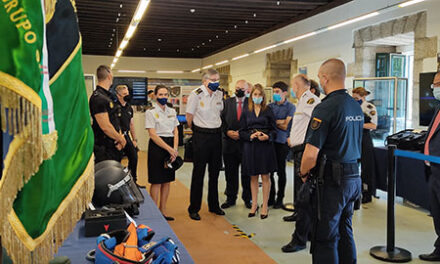 La Policía Nacional expone en San Lorenzo los últimos avances en transformación digital