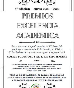 Premios a la Excelencia académica en El Escorial