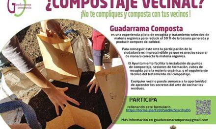 El Ayuntamiento de Guadarrama pone en marcha el compostaje comunitario
