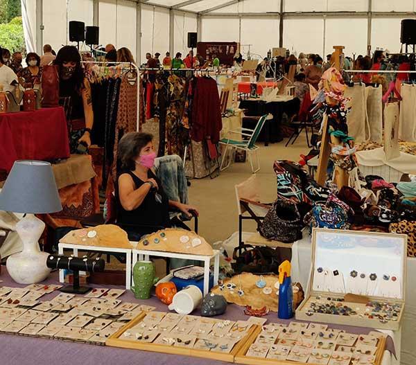 Más de 1.700 visitantes en el III Encuentro artesano de la sierra noroeste