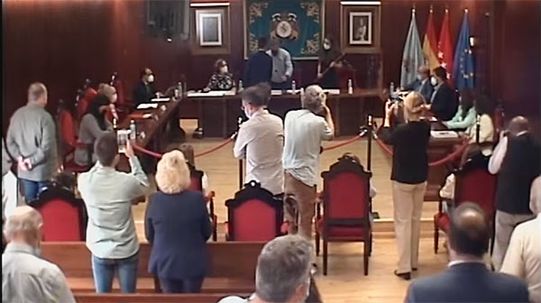Triunfa la moción de censura en El Escorial con el apoyo de Ciudadanos