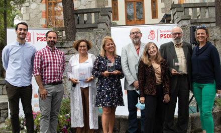 El PSOE entregó los XIV premios Rafael Martínez López
