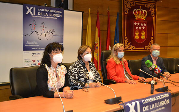 Collado Villalba acoge la XI Carrera solidaria de la ilusión