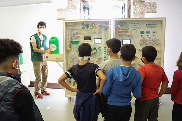 """La campaña de reciclaje de vidrio """"Tú eres la pieza clave"""" comienza en San Lorenzo"""