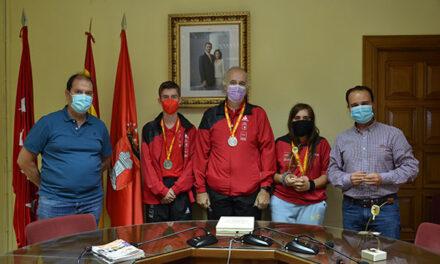 Guadarrama: el alcalde agradece al CETM Sierra de Guadarrama sus triunfos deportivos