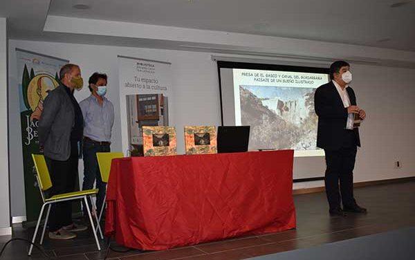 Presentado el libro La Presa de El Gasco: paisaje de un sueño ilustrado
