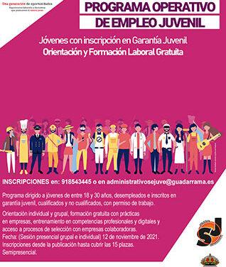 Abierta la inscripción para un curso del programa de empleo juvenil del Sejuve