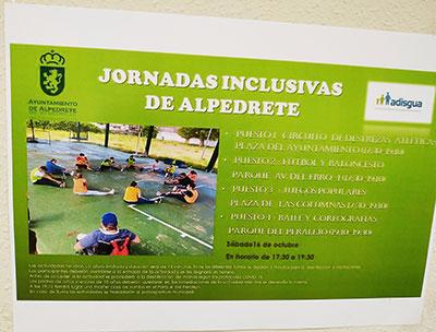 Jornada inclusiva Alpedrete