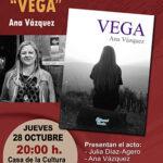 "La escritora Ana Vázquez presenta en Guadarrama su novela ""Vega"""