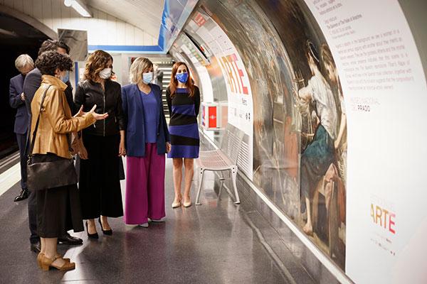 Arte en la Estación de Metro