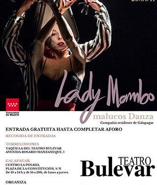 La compañía Malucos Danza actuará este sábado en el Teatro Bulevar de Torrelodones