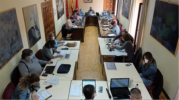 La obra del Paseo de la Alameda de Guadarrama se paralizará
