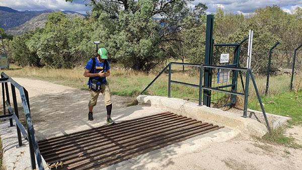 Rutas accesibles para personas con discapacidad visual en la Sierra de Guadarrama